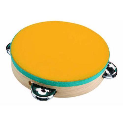Tamburyn. zabawki drewniane - . darmowa dostawa do kiosku ruchu od 24,99zł marki Plan toys