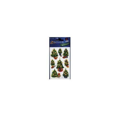 Naklejki - Błyszczące choinki (4004182523100)
