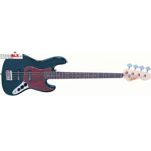 VINTAGE VJ74BLK - BASS GUITAR, GLOSS BLACK
