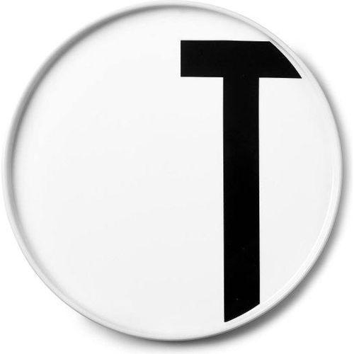 Talerz porcelanowy AJ litera T (5710498720537)