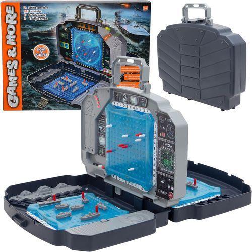 Simba Elektroniczna gra w okręty statki w walizce Światło i dźwięki