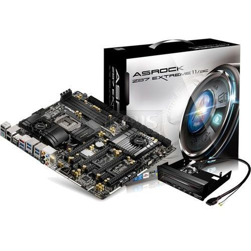 Płyta główna Asrock Z87, DualDDR3-1600, SATA3, RAID, HDMI, DP, E-ATX - Z87 EXTREME11/AC, kup u jednego z partnerów
