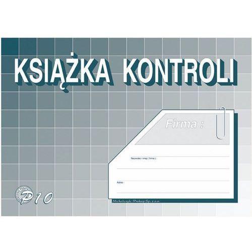 Książka kontroli michalczyk&prokop p10 - a5 marki Michalczyk i prokop