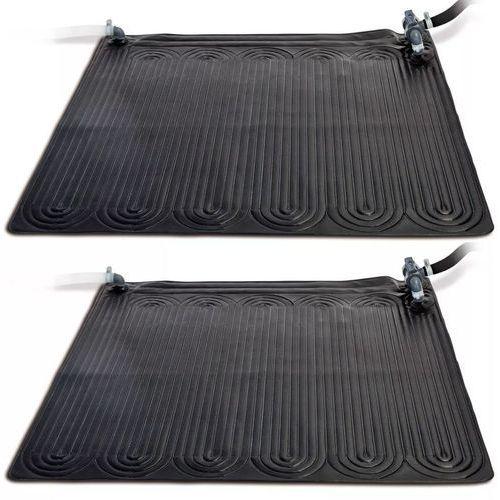 Intex podgrzewacz / solarna mata grzewcza 2 szt pvc 1,2x1,2 m, czarny (8718475999553)