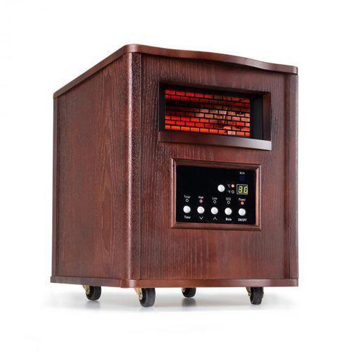Klarstein Heatbox grzejnik na podczerwień ciemny orzech