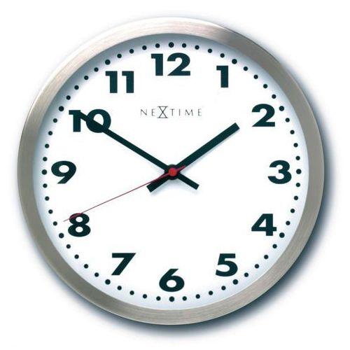 Zegar ścienny Arabic - biały - różne rozmiary - 26 cm, kolor biały