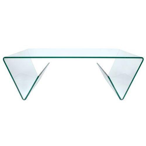 Stolik szklany MANOR - szkło transparentne