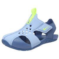 sportswear buty na plażę/do kąpieli 'sunray protect 2 td' jasnoniebieski / żółty marki Nike