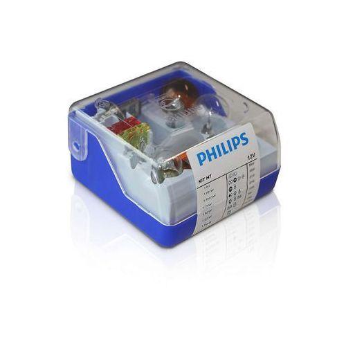 Zestaw zapasowy 55007skkm - żarówka samochodowa h7 12v marki Philips