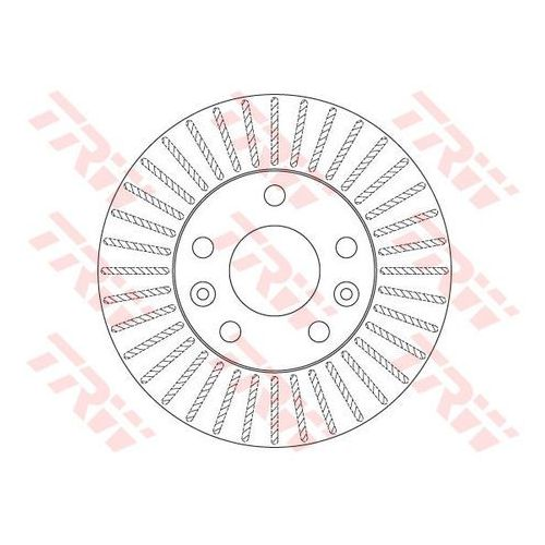 Tarcza ham df6200 dacia duster 1.5dci 90km 10-, 1.6 16v 105km 10- 269x22.5mm marki Trw