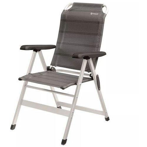krzesło składane ontario, szare, 61x70x105 cm, 410078 marki Outwell