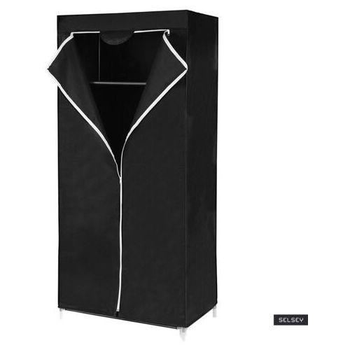 Selsey szafa baratins 75 cm czarna marki Songmics