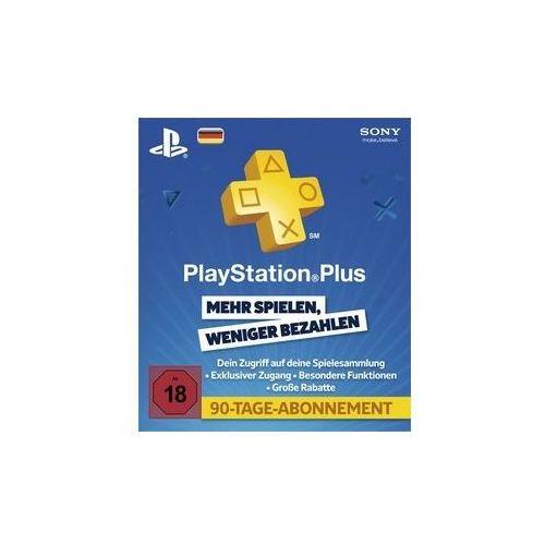 Sony PSN Live Card Plus 90 Tage (0711719144977)