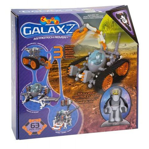 Zoob Z-Galax Astrotech Rover 63 elementy (0635694160206)