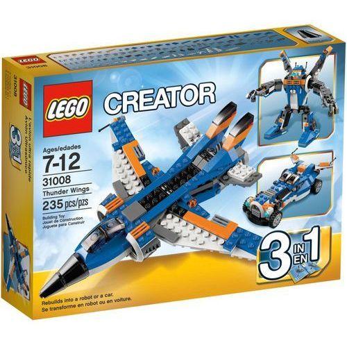 Lego CREATOR Zdobywcy przestworzy 31008