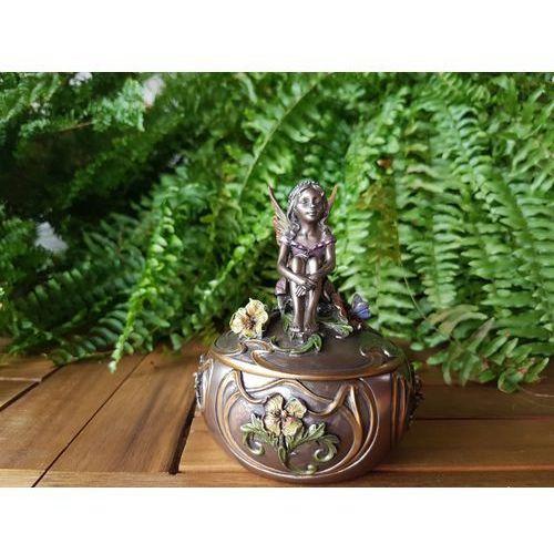 Secesyjna szkatułka z aniołem (wu70671a4) marki Veronese