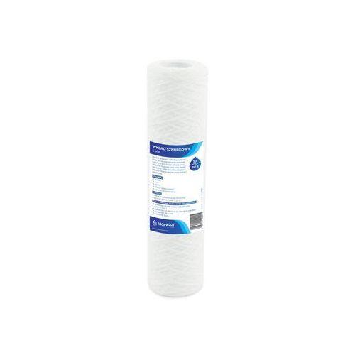 Wkład sznurkowy do filtra 10 pp 5 mikronów marki Klarwod