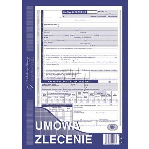 Umowa zlecenie A4 oryginał + kopia (511-1U)