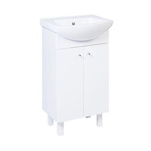 Sensea Zestaw mebli łazienkowych z umywalką 50 luka new
