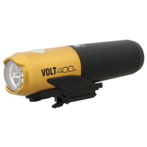 Lampka volt 400 hl-el461rc czarny-żółty / wersja zestawu: podstawowy marki Cateye