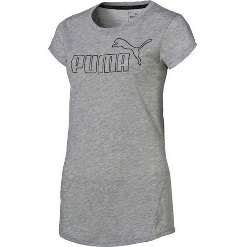 Puma koszulka sportowa ACTIVE ESS No.1 Tee W Light Gray Heather M (4056206082216)