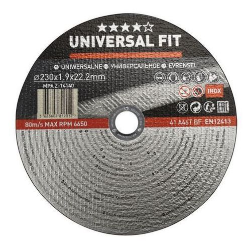 Universal Tarcza do cięcia metalu inox 230 x 1 9 mm