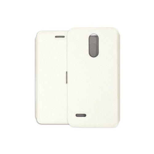 LG K8 (2018) - etui na telefon Wallet Book - biały