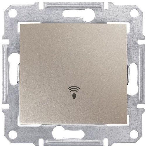 """Sedna przycisk """"dzwonek"""" Schneider podtynkowy pojedynczy bez ramki satyna SDN0800168, SDN0800168"""