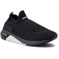 Sneakersy DIESEL - S-Kb Athl Sock Y01881 P2199 H3800 Black/Grey