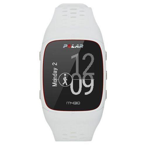 Zegarek sportowy z GPS POLAR ELECTRO M430 Biały (0725882038780)