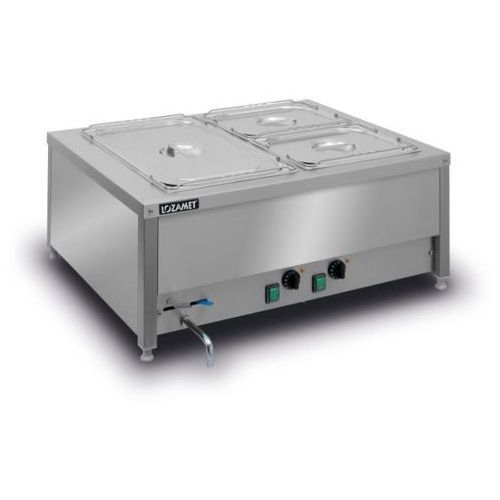 Bemar elektryczny stołowy 2xgn 1/1 200 mm bsn.2gn marki Lozamet