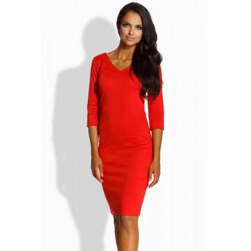 Sukienka model l228 red marki Lemoniade