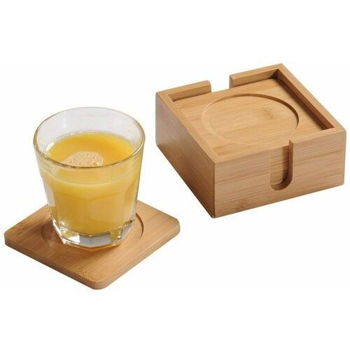 Kesper podstawki pod napoje 6 szt., bambus (4000270587467)