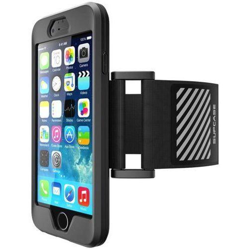 Supcase Sport Armband Black | Sportowy futerał naramienny dla Apple iPhone 6 / 6S