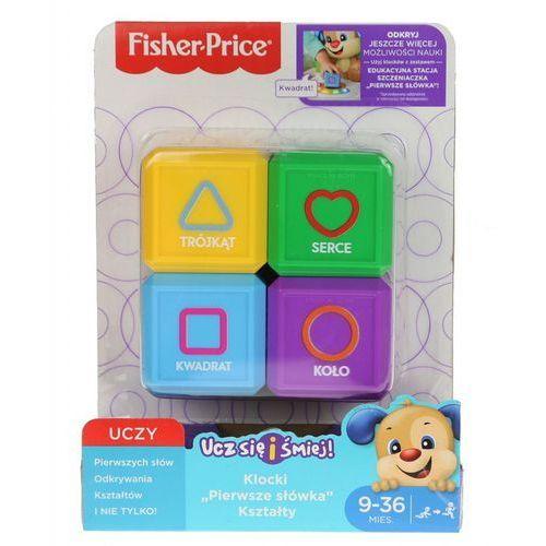 ucz się i śmiej klocki pierwsze słówka kształty marki Fisher price