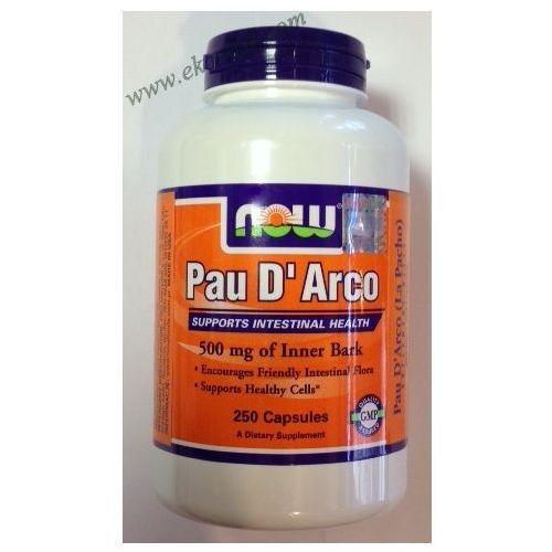 Kapsułki Now Foods Pau D'Arco (LaPacho) 500mg 250 kaps.