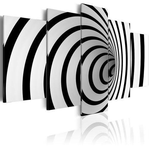 Artgeist Obraz - czarno-biała dziura