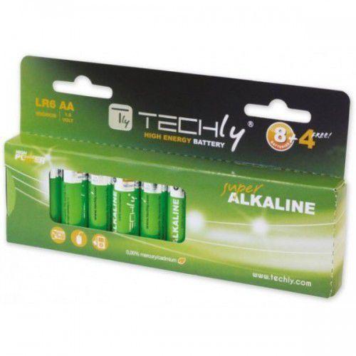 Techly baterie alkaliczne 1.5v aa lr6, 12 sztuk (306981) darmowy odbiór w 21 miastach! (8057685306981)