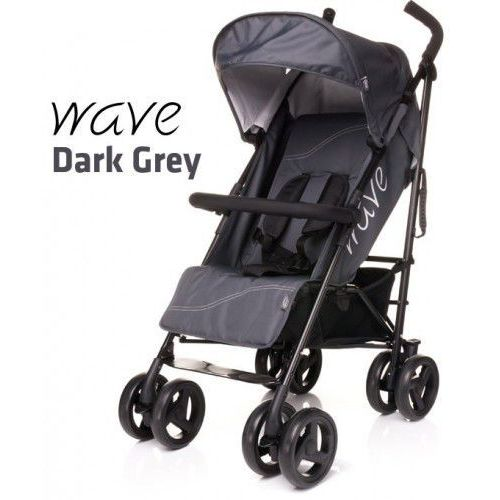 Wózek spacerowy 4baby Wave Dark Grey