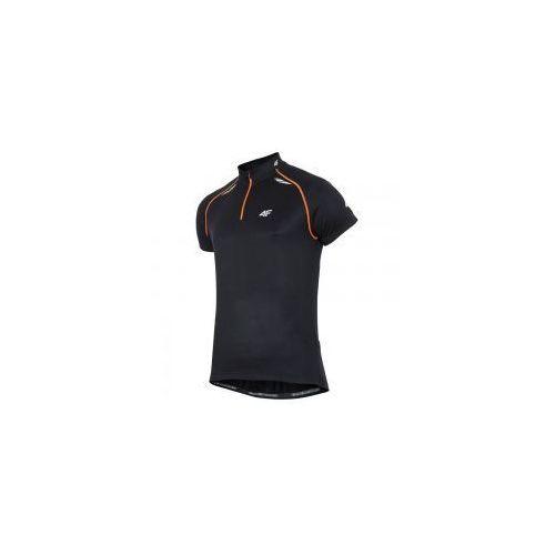 BLUZA MĘSKA ROWEROWA RKM003 CZARNA R.S, kolor czarny