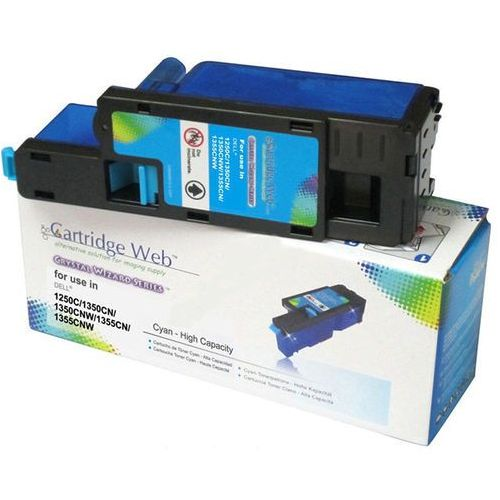 Toner cw-d1350cn cyan do drukarek dell (zamiennik dell 593-11021 / pdvdw) [1.4k] marki Cartridge web