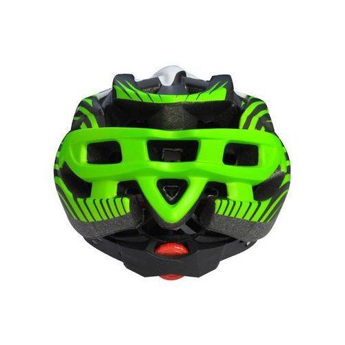 Axer sport Kask rowerowy axer liberty green/white z daszkiem