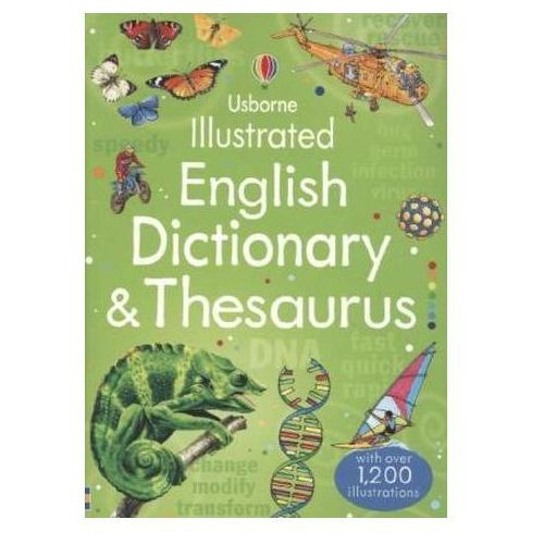 Illustrated English Dictionary & Thesaurus (9781409584360)