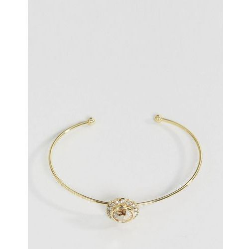 Ted Baker Sappelle Crystal Chain Ultra Fine Cuff - Gold