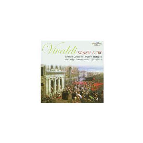 Brilliant classics Vivaldi: sonate a tre - lorenzo cavasanti, manuel staropoli, linda murgia, claudia ferrero, ugo nastrucci (płyta cd) (5028421941738)