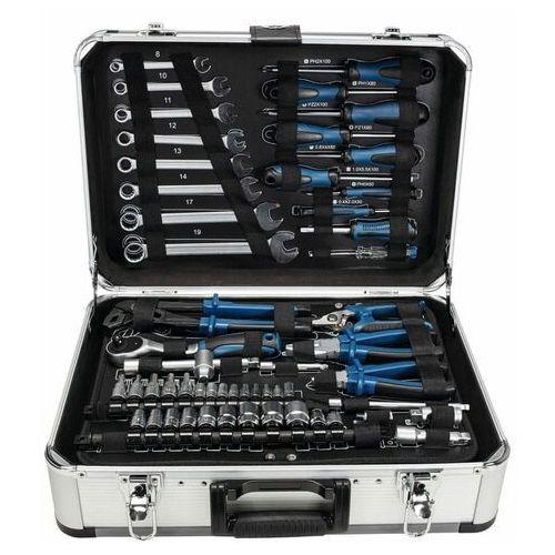 Scheppach walizka aluminiowa z narzędziami TB 150, 101 części