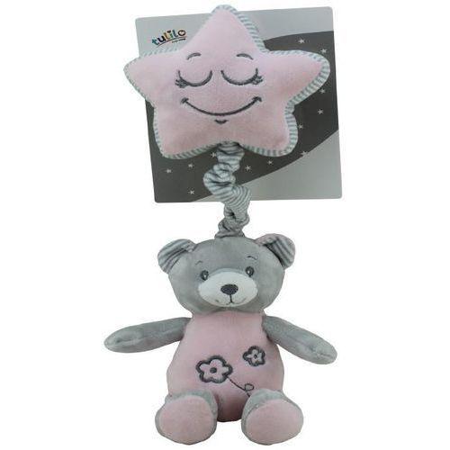 Axiom Pozytywka new baby miś różowy 19 cm (5902002060639)