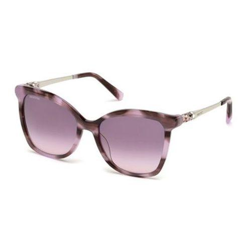 Okulary słoneczne sk0154-h 81z marki Swarovski