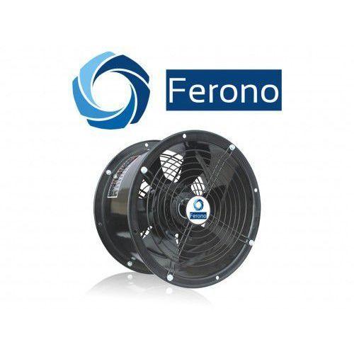 Ferono Wentylator kanałowy, osiowy, wodoszczelny 200mm, 1050m3/h (fko200)