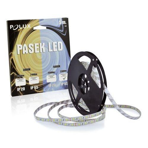 Taśma LED 45W 5 metrów zimna/biała barwa światła 2300 lumenów IP65 POLUX/SANICO (5901508306517)
